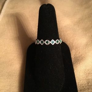 Sterling Silver May Infinity Ring